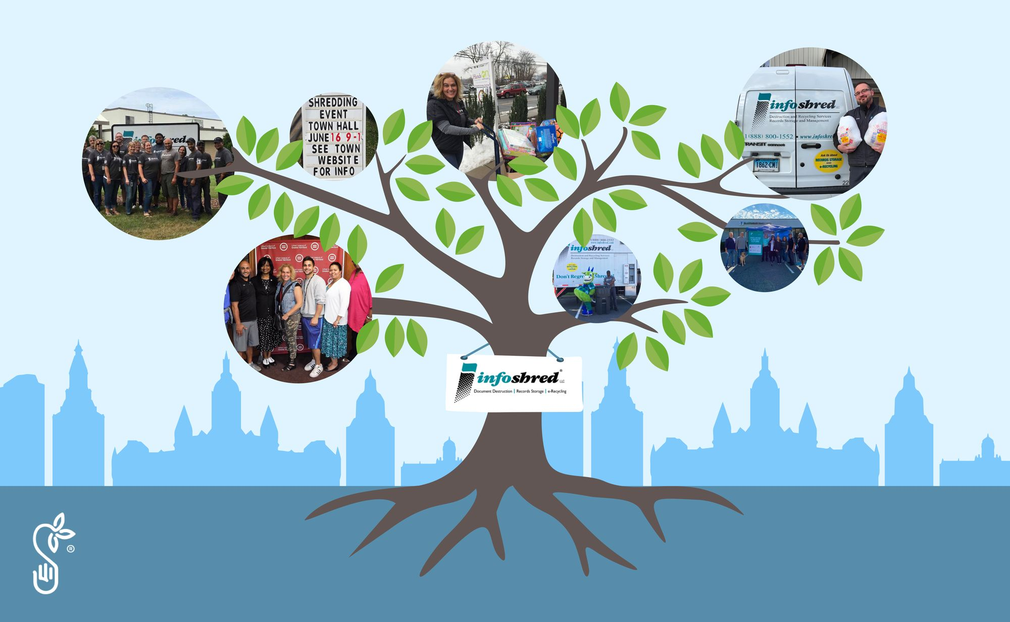 Infoshred takes its community giving to the next level for greater visibility and impact